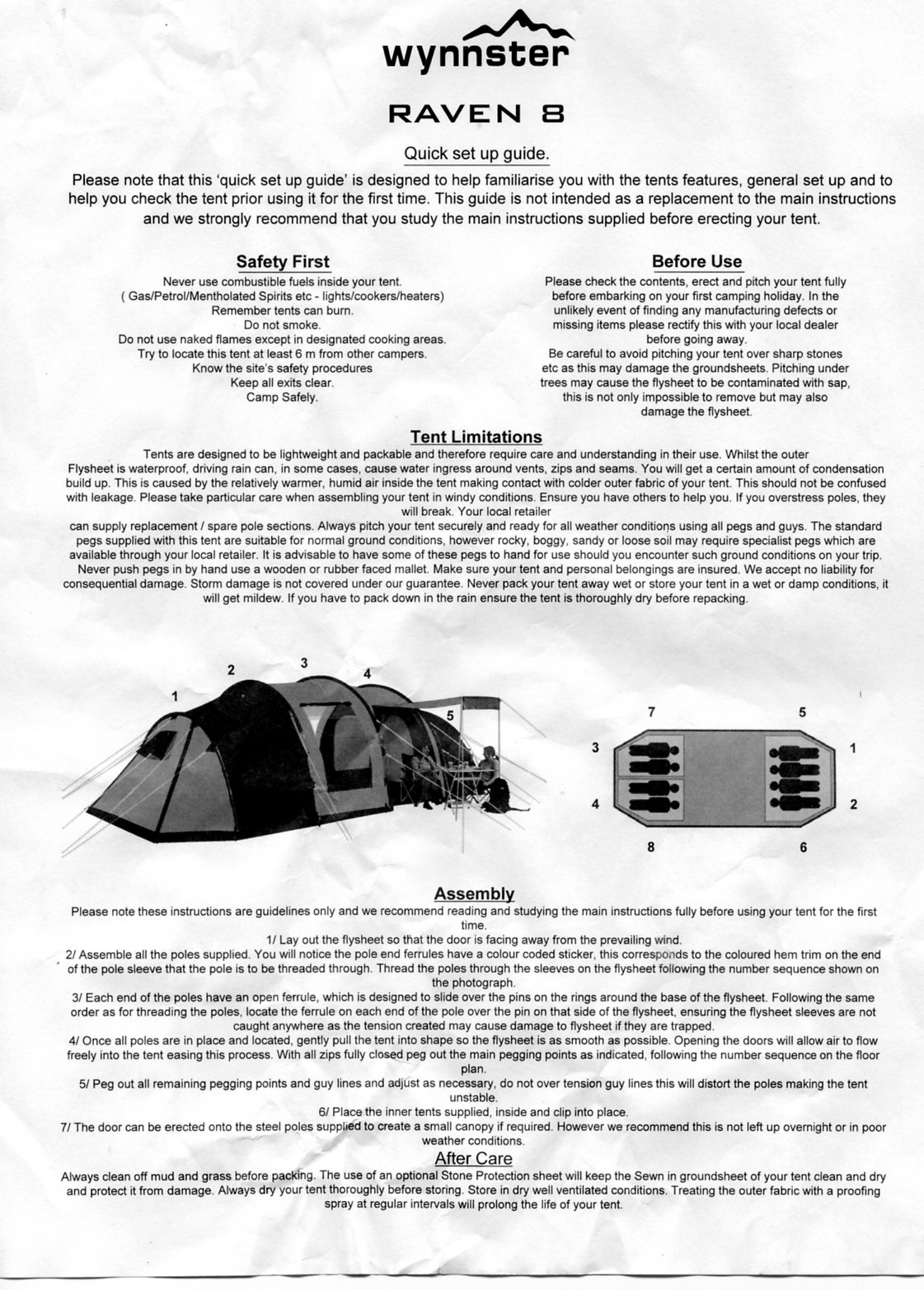 Help Khyam Ontario 8 Video Please Ukcampsite Tent Talk